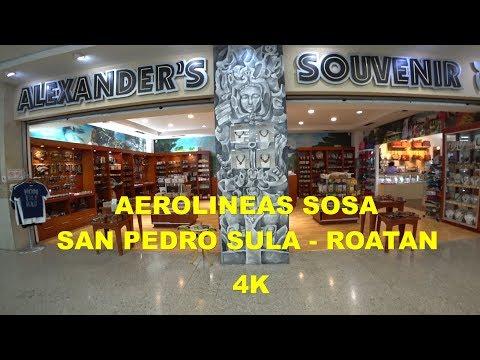 Aerolineas Sosa San Pedro Sula - Roatan  4K Jetstream 31