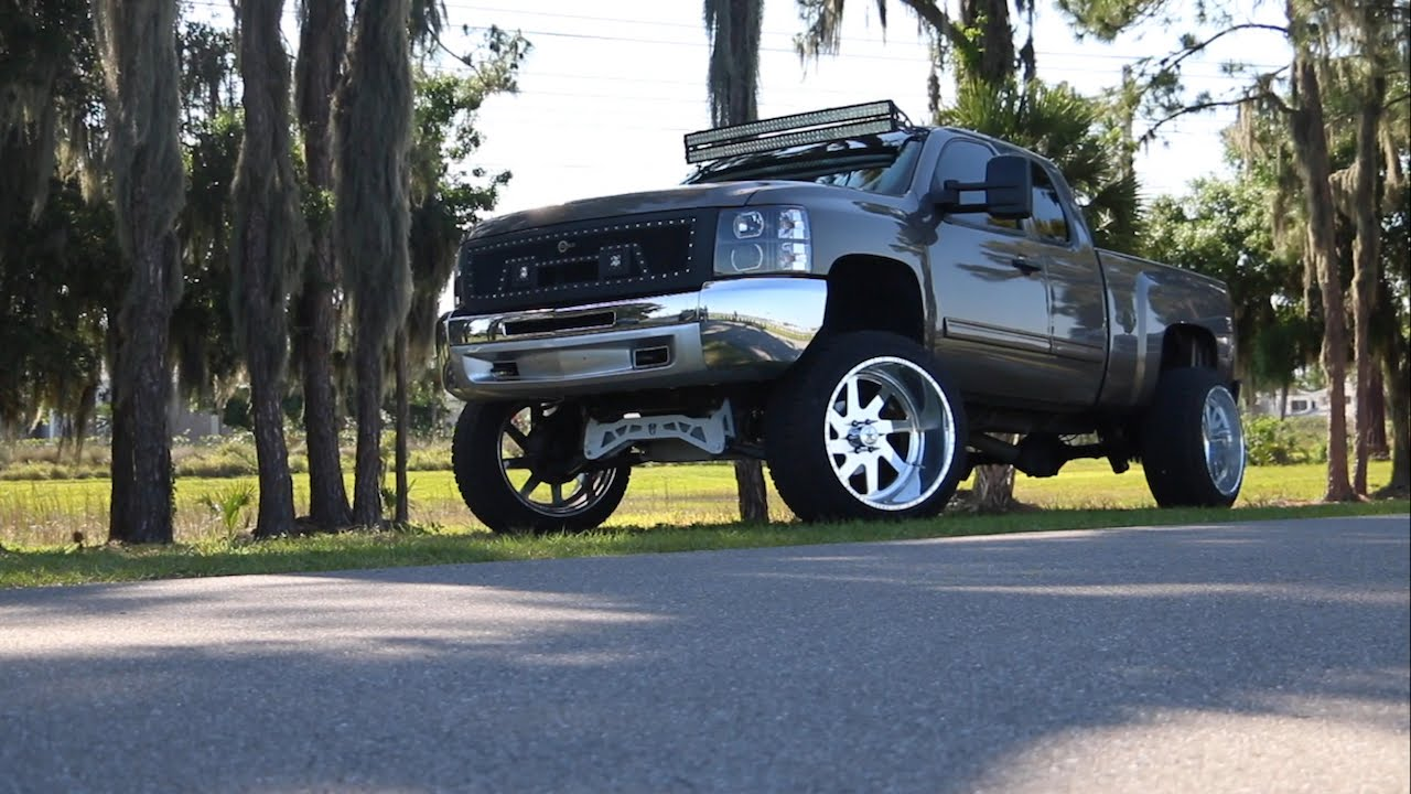 Cody William's Lifted Chevy 1500 | American Force Wheels x ...