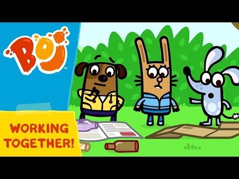 Boj - Working Together | Cartoons for Kids