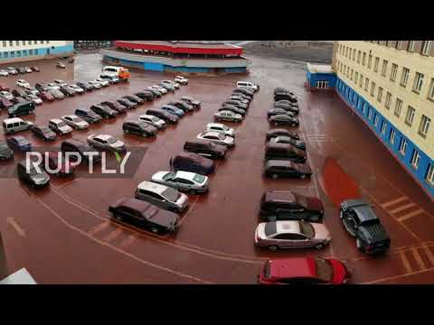 'Blood rain' pours down on Russia's Norilsk