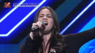 Jackie Thomas   Skinny Love   The X Factor NZ audition YouTube Videos