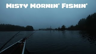 Sunrise Fishing in the Mist