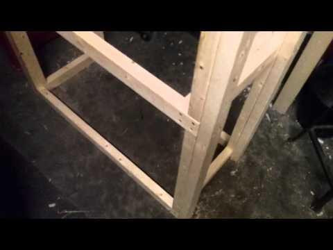 DIY Double 40 Gallon Breeder Stand/rack