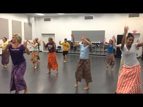 JMU West African Dance class !