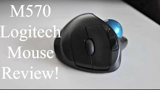 M570 Logitech Mouse Review!