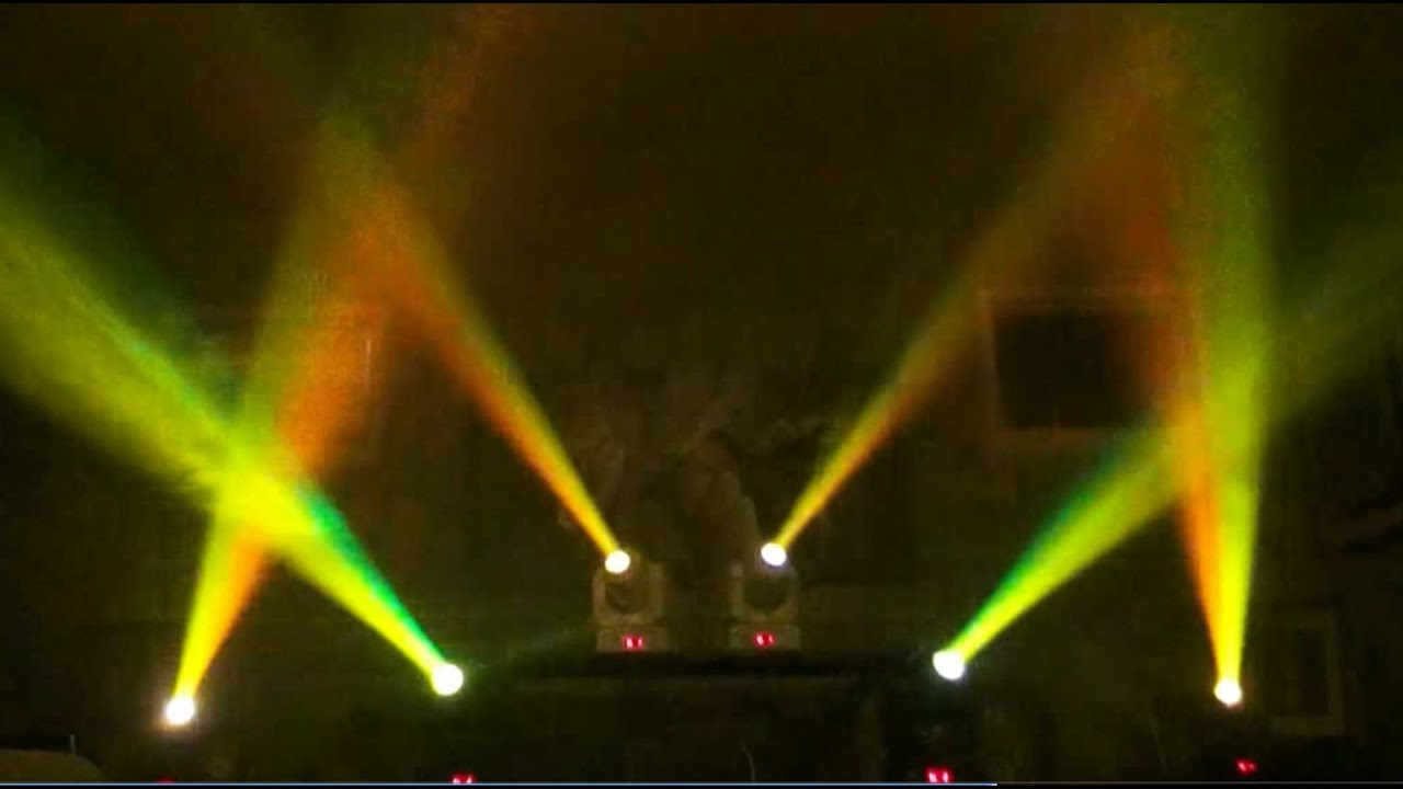 Light Show Adj Inno Pocket Spot X 6 Youtube