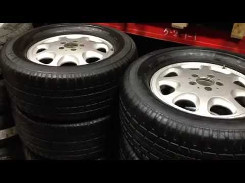 Б У летние колёса на бронированный Мерседес S600 W140, Continental CTS 265 40 R450