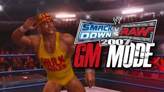 "WWE Smackdown Vs Raw 2007 - GM MODE - ""DEATH BY PINBALL!!"" (Ep 6)"