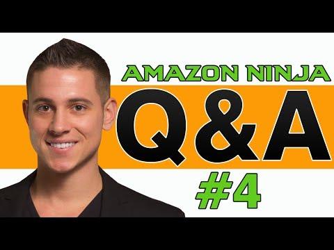 Amazon FBA | Ninja Course Student Group Q&A #4 - Amazon FBA Q&A
