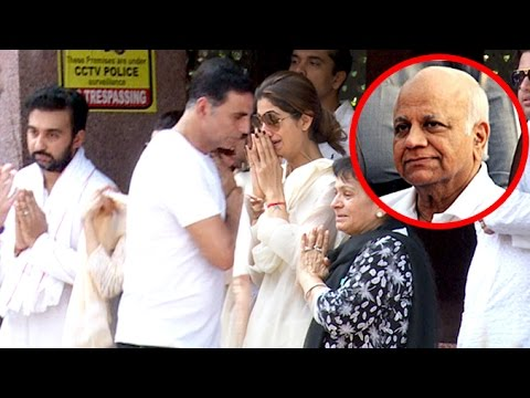 Shilpa Shetty's Father's Antim Sanskar (Last Rights) Full Video HD