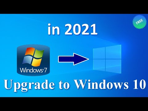Windows 10 from Windows 7 - Upgrading from Windows 7 to Windows 10 is completely FREE in 2020!