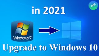 Windows 10 from Windows 7 - Upgrading from Windows 7 to Windows 10 is completely FREE until 2020!