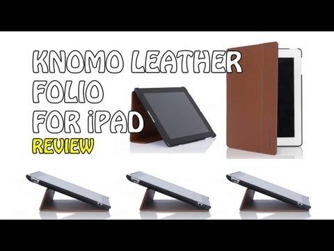 Knomo Leather Folio For Apple IPad 2 & 3 | Geekanoids Review