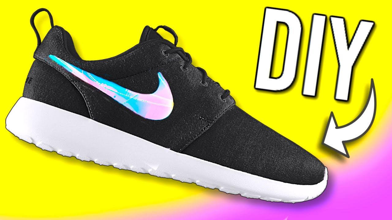 f14005c297c9 DIY Holographic Shoes! DIY ideas you NEED to try!! - YouTube