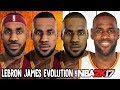 Lebron James Evolution - Face Comparison (NBA 2K4 - NBA 2K17)