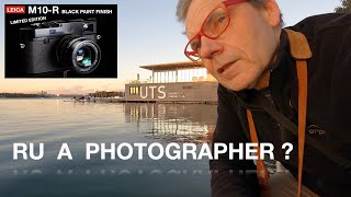 Are You A Photographer?  Conti…