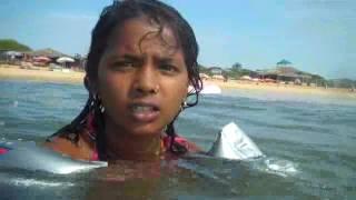 Karnatika kids on beach in Goa