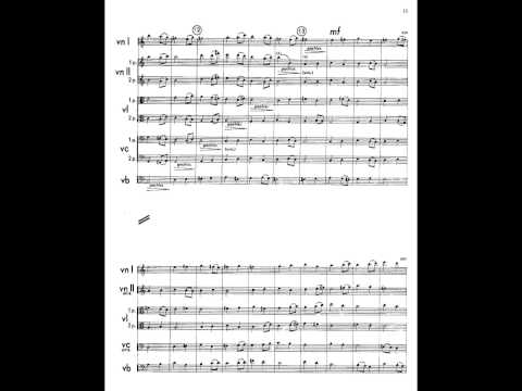 Henryk Górecki - Symphony of Sorrowful Songs - Mvt. 1 - Score