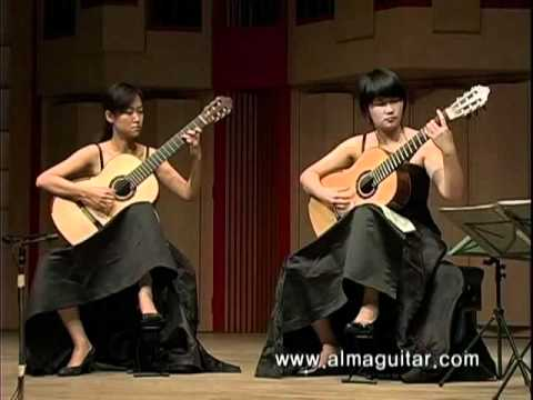 Tango suite performed by Wang YaMeng & Su Meng 吉他:探戈組曲