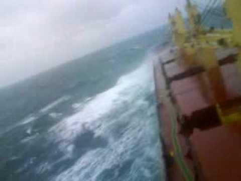 rough weather taiwan strait
