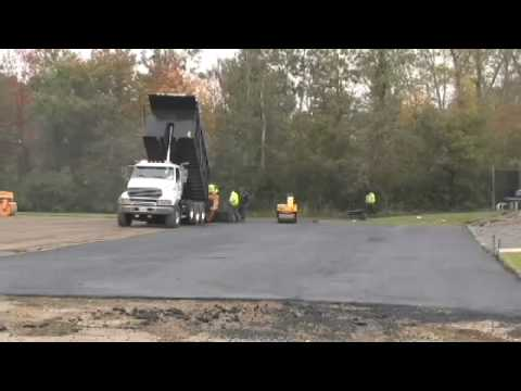 How Asphalt Paving should be done by J.A. Cooper