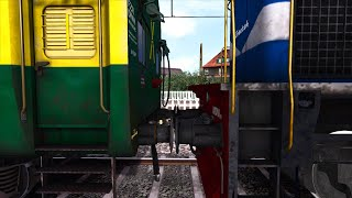 WDM3D Coupling Fail Accident - Indian Railways Train Simulator 2018