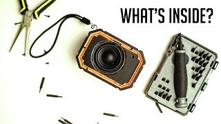 What's inside the Mpow bluetooth speaker?