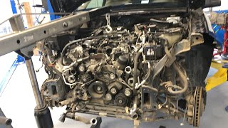 Mercedes Benz 2014 Gl450 Engine Misfire Diagnosis and Repair Part 3