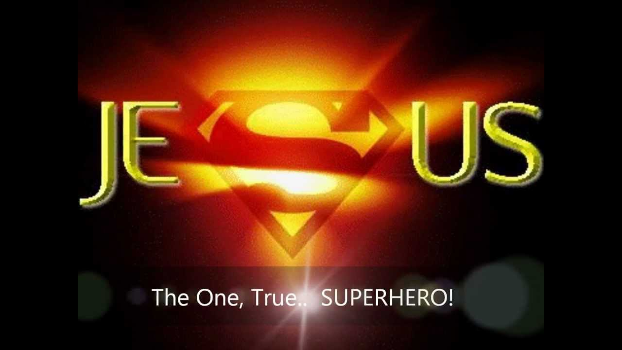 3d Christian Wallpapers Backgrounds Jesus The One True Superhero Youtube