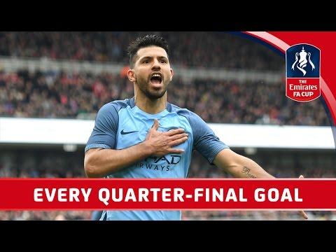 Все голы 1/4 финала Кубка Англии
