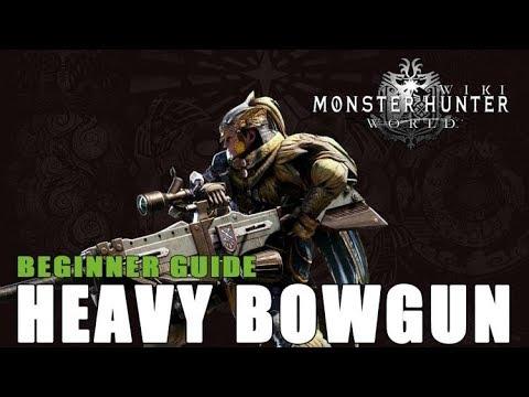 Heavy Bowgun   Monster Hunter World Wiki