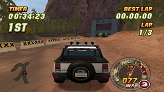 Hummer Badlands PS2 Gameplay HD (PCSX2)