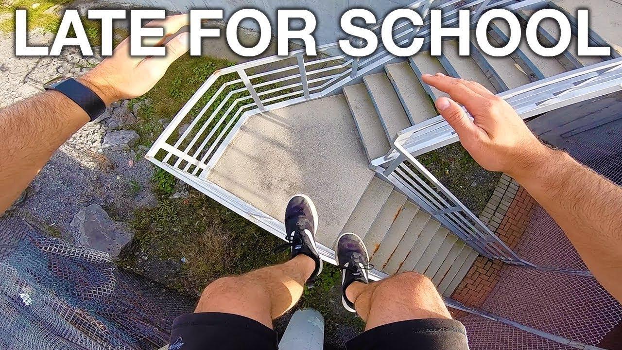 Download Late For School Parkour POV