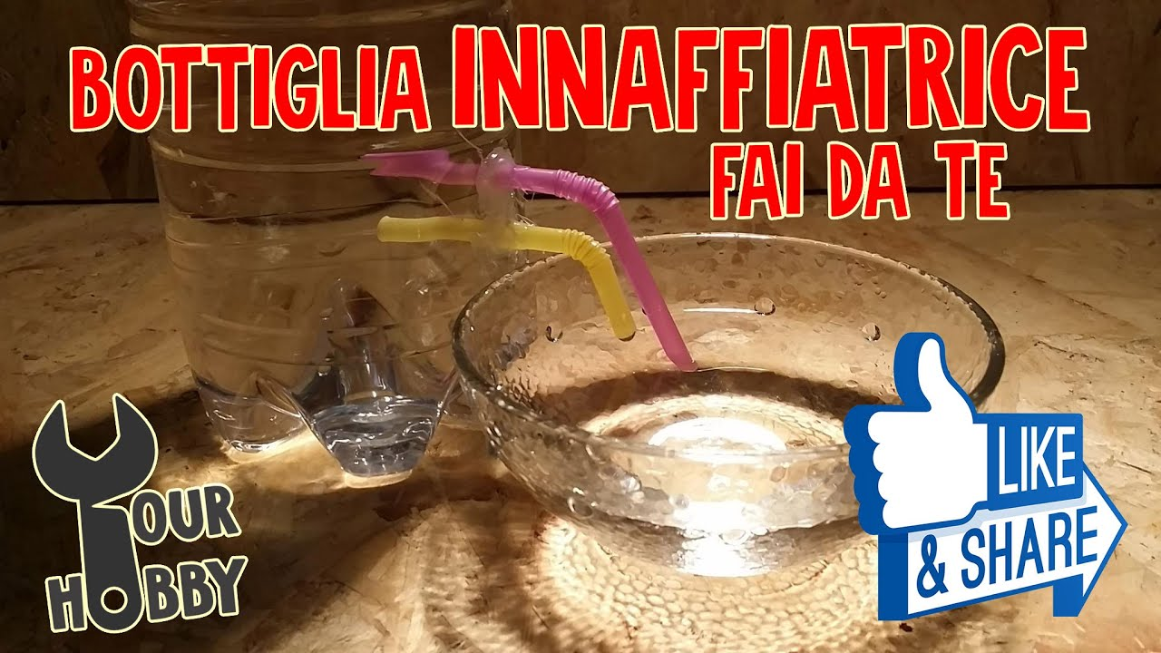 Diy bottiglia innaffiatrice fai da te youtube for Hobby fai da te