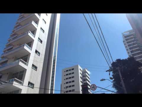 streets of fortaleza Brazilian tourist places FULL HD