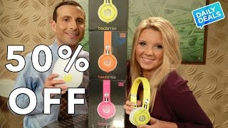 50% Off Beats By Dre Audio ◄ Beats Mixr Sound Quality Review ► The Deal Guy