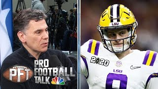 Why did Burrow change his tone about Bengals ahead of NFL draft? | Pro Football Talk | NBC Sports