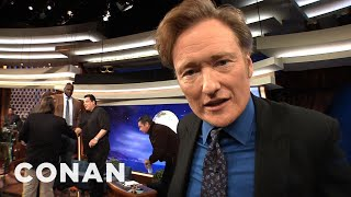 Exclusive Video: We Get In Conan