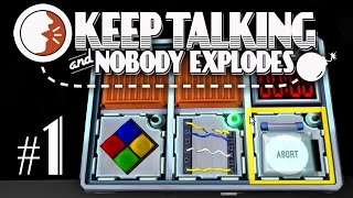 Thumbnail für das Keep Talking and Nobody Explodes Let's Play