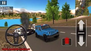 Police Car Offroad Driving Simulator - NEW Special Police JEEP Vehicle Android GamePlay FHD