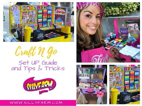 My Craft N Go Face Painting Kit Full Update And Overview
