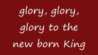 Mariah Carey - Jesus Oh What A Wonderful Child (lyrics on screen)