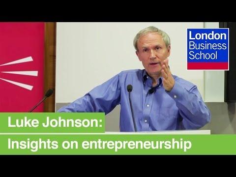 TELL Series: Luke Johnson - Pizza Express, Strada, Risk Capital Partners | London Business School