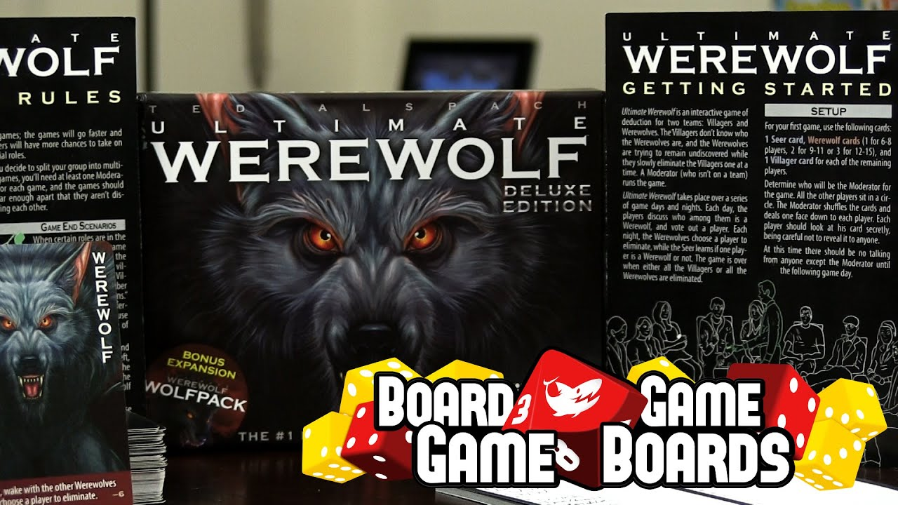 Werewolf Review - Board Game Game Boards