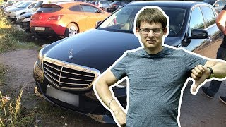 ОСТОРОЖНО 3х летний авто ! Расколбашен, но покрашен ! Mercedes E w212 за 1450 тыс. ₽!