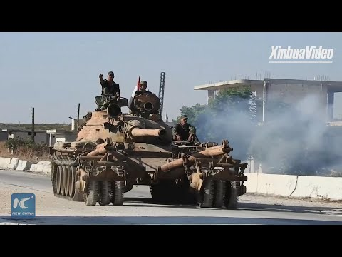 Syrian army near