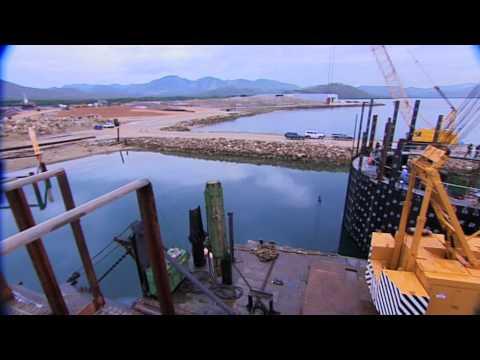 International Wharf Construction, Motukea Island, Papua New Guinea