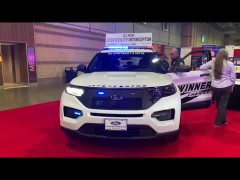 2020 Ford Police Interceptor Utility.