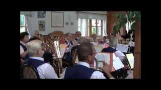 Blasmusik Sommerausklang im Weingut Schilling