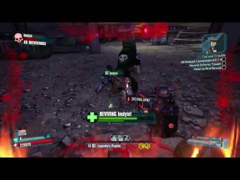 Borderlands 2: Psycho Fire Build - 1 - YouTube Borderlands 2 Psycho Build
